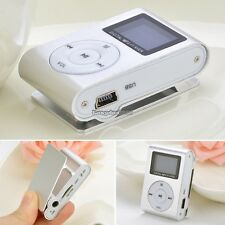 Fashion Mini Clip Metal USB MP3 Music Media Player up to 32GB with FM Radio ED