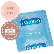 Pasante COOLING condoms 1 - 3 - 6 - 12 - 24 - 48 - 100 pcs  - FREE shipping