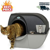 Omega Paw EL-RA20-1 Roll N Clean Self Separating and Self Cleaning Litter Box!!