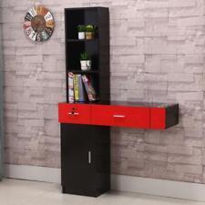 Locking Beauty Salon Storage Cabinet Hair Dryer Holder Stylist Equipment Drawer