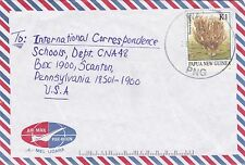 DB590) Nice Papua New Guinea Commercial cover, coral