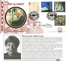 2 MAY 2000 ART & CRAFT BENHAM BLCS 180 FDC SIGNED BY PENELOPE BRITTAIN (a)