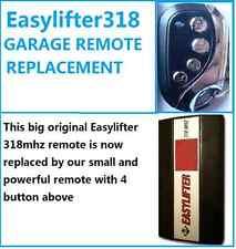 B&D EASYLIFTER 318 GARAGE DOOR REMOTE CONTROL BND 318mhz Roller Door OPENER