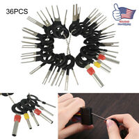 36x Car Terminal Removal Tools Wire Plug Connector Extractor Puller Release Pin