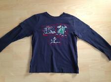 Esprit Weihnachtsshirt 140/146 Xmas Shirt mit Rudolph und Tannenbaum schwarz
