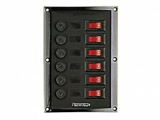 Schaltpaneel Schalttafel mit 6 Schaltern NEU OVP 6518