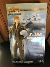 "BBI Blue Box 1/6 Scale 12"" Elite Force F-15A Female Pilot Burner Action Figure"