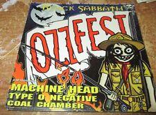 BLACK SABBATH STICKER COLLECTiBLE RARE VINTAGE 90'S OZZY MACHINE HEAD TYPE O