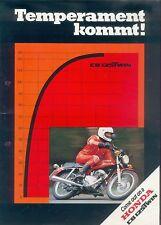Honda CB 125 Twin Prospekt 1978 brochure Broschüre Motorrad Asien Japan moto