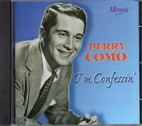 Perry Como - I'm Confessin (1998 CD) Remastered (New)