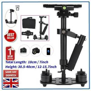 UK Telescopic Handheld Stabilizer Steadycam Steadicam for DSLR Camera Camcorder