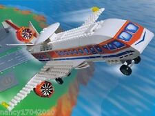 Lego System 4619 Forschungs Flugzeug Jack Stone A.I.R. Patrol Jet & Bauanleitung