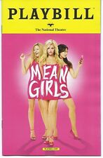 MEAN GIRLS Playbill TINA FEY pre-Broadway Musical Wash D.C. Taylor Louderman