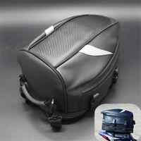 Waterproof Motorcycle Top Case Rear Back Seat Travel Bag Helmet Pack Universal