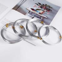 12m Fil Aluminium 1mm Couleur Argenté Perlage, Bricolage, Bijoux ...