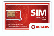 ROGERS CANADA MINI / STANDARD SIZE UN-ACTIVATED SIM CARD FOR SWAP OR REPLACEMENT