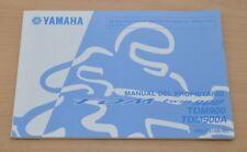 YAMAHA TDM Twin 900 TDM900 A Manual del Propietario Spanisch Bedienungsanleitung