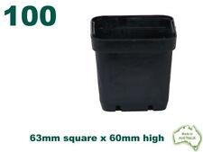 Unbranded Square Flower & Plant Pots Boxes