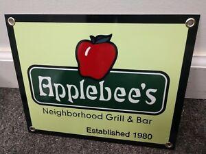 Applebee's restaurant fast food Sign