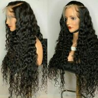 360 wigs Lace Frontal Wig Curly Malaysian virgin Human Hair Wigs Pre Plucked
