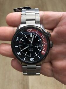 Seiko 5 Sports Compressor SRPB29 Men's Dual Crown 100m Automatic Watch