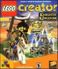 Lego Creator Knights' Kingdom Pc Cd medieval king castle building blocks game!