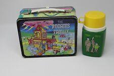 Vintage 1974 Addams Family Metal Lunchbox w/Thermos Hanna Barbera