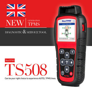 Autel TPMS Car Tire Pressure Sensor OBD2 Activation Scanner Service Tool TS508
