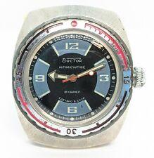 Vostok Amphibian Bochka sectorial USSR Watch caliber 2209 Rare Sovjet watch