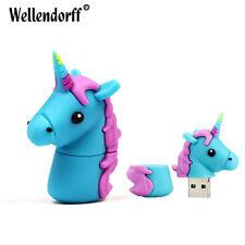 USB  8 GB, Pendrive, Unicornio, azul, rosa - Envío Gratis Certificado
