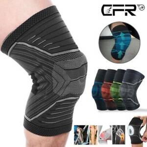 Steel Knee Support Compression Brace Pad Arthritis Sprain PATELLA PAIN Running
