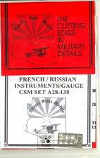 Copper State Models 1/28 FRENCH & RUSSIAN GAUGE & INSTRUMENT SET Photo Etch Set