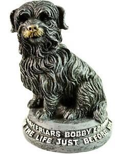 Greyfriars Bobby Resin Statue Skye Terrier Small
