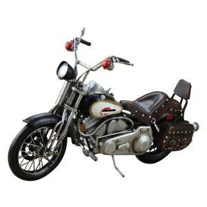 1: 8 Scale Retro Tinplate 1979 Harley Davidson Motorcycle Model FXSTS Artwork NR