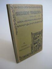 1903 Griechische Tragoedien Ulrich Wilamowitz Moellendorf Euripides K2131