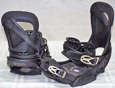 16-17 Burton Lexa EST Used Women's Snowboard Bindings Size S #632636