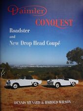 Daimler book on  The  Conquest Roadster and New Drop Head Coupé 1953 to 1957
