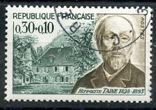 STAMP / TIMBRE FRANCE OBLITERE N° 1475 CELEBRITE HIPPOLYTE TAINE