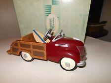 Hallmark Kiddie Car Classic 1939 Garton Ford Station Wagon w/ Surfboard 1996
