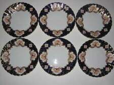 6 Royal Stafford HERITAGE Bread Butter Plates with Gold Trim England Bone China