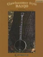 Clawhammer Style Banjo 5-String TAB Music Book Ken Perlman Learn to Play Method