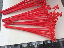 Red BALLOON STICKS X 200!!!--- Plastic Holder accessories