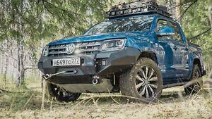 VW Amarok Front Winch Bumper Alu Seilwindenstoßstange
