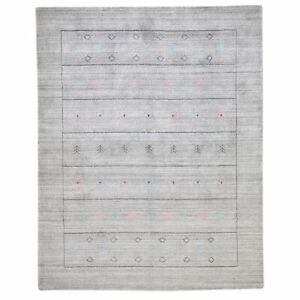 Barkat Rugs Hand-Loomed Bamboo Silk Modern Contemporary (Size 5.3X7.0) Brral-762