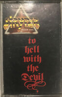 Stryper ‎– To Hell With The Devil Cassette 1986 Enigma Records ‎– 4JAS-73237