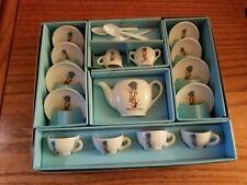 Holly Hobbie China Tea Set 18 pcs. By Chilton