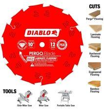NEW Freud D1012LF Diablo 10-inch 12 PCD Pergo Diamond Laminate Saw Blade