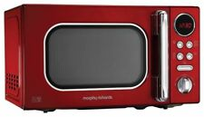 Morphy Richards Accents Red Microwave 20l Solo 800w 511502