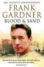 Gardner, Frank, Blood and Sand, Very Good, Paperback
