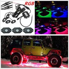4Pods LED Rock Light Waterproof Wireless Bluetooth Music RGB 16 Million Color